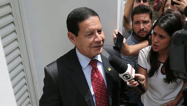 Antônio Hamilton Mourão, vicepresidente electo de Brasil - Sputnik Mundo