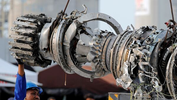 Turbina del avión Lion Air - Sputnik Mundo