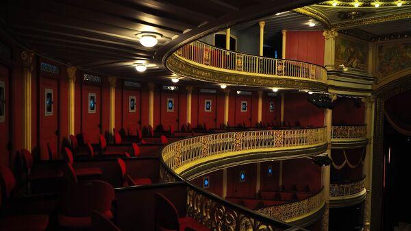 Teatro, imagen referencial - Sputnik Mundo