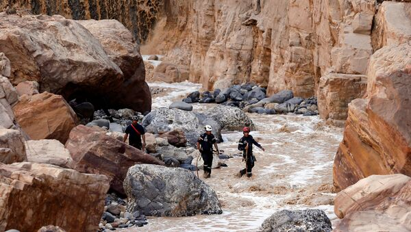 Inundación en Jordania (Archivo) - Sputnik Mundo