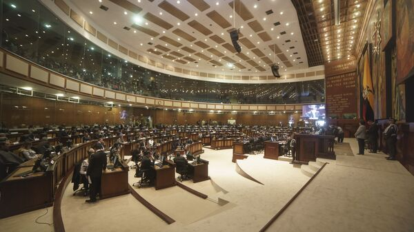 La Asamblea Nacional de Ecuador (archivo) - Sputnik Mundo