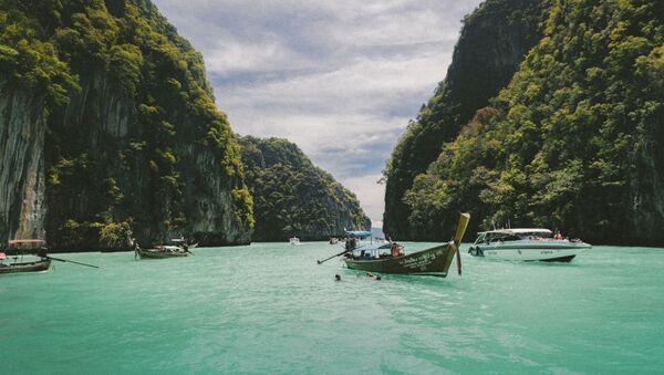 Barcos en Tailandia (imagen referencial) - Sputnik Mundo