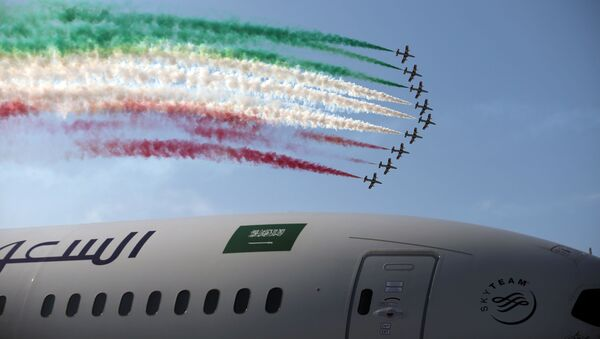 Las aeronaves más novedosas del mundo despliegan sus alas en Bahréin - Sputnik Mundo