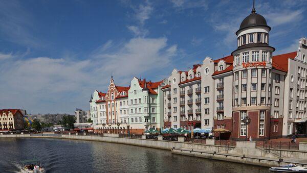 Centro histórico de Kaliningrado - Sputnik Mundo