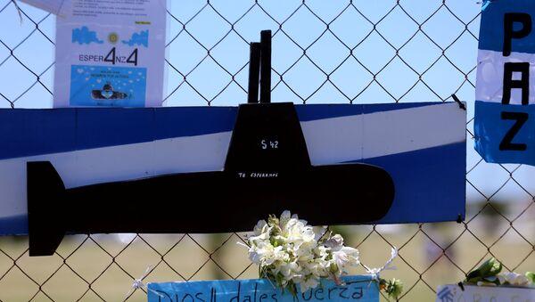 Un homenaje a los submarinistas del ARA San Juan - Sputnik Mundo