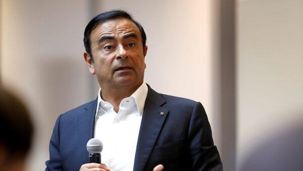 Carlos Ghosn, jefe del consorcio automovilístico Nissan - Sputnik Mundo