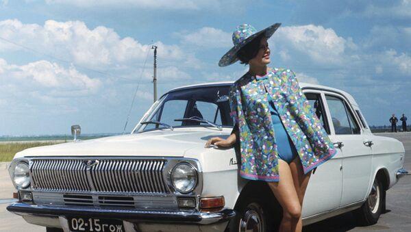 El sexo sí que existía en la URSS, sobre todo en la publicidad de autos - Sputnik Mundo