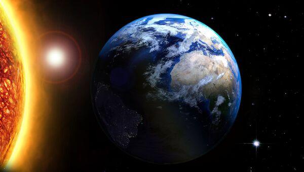 La Tierra y el sol - Sputnik Mundo