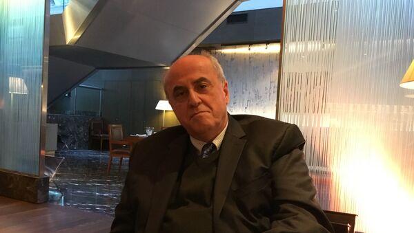 Elías Sanbar, embajador de Palestina ante la Unesco - Sputnik Mundo
