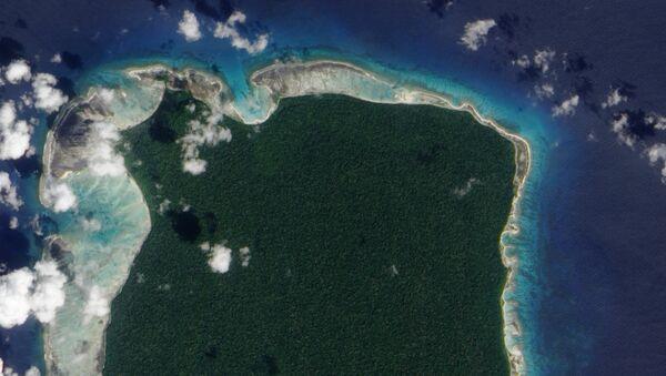 Isla Sentinel del Norte, en el océano Índico, donde murió un misionero estadounidense en manos de una tribu aislada - Sputnik Mundo