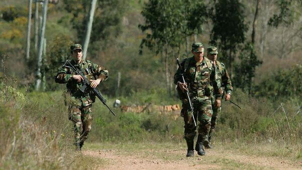 Militares de Uruguay (Archivo) - Sputnik Mundo