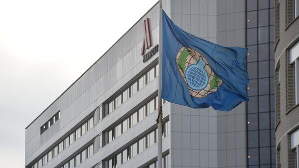 Bandera de la OPAQ - Sputnik Mundo