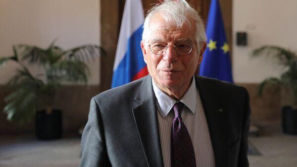 Josep Borrell,ministro de Exteriores español - Sputnik Mundo