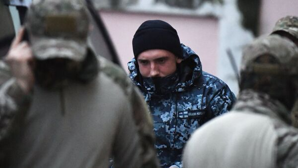 Uno de los marineros ucranianos arrestados - Sputnik Mundo