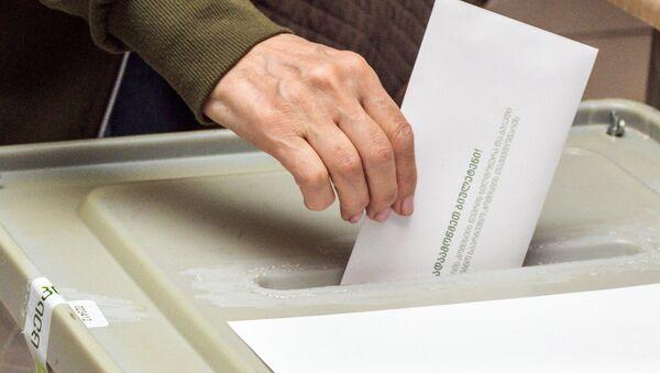 Elecciones en Georgia - Sputnik Mundo