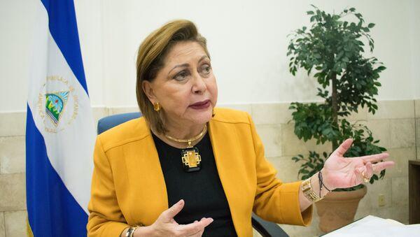 Alba Luz Ramos, presidenta de la Corte Suprema de Justicia de Nicaragua - Sputnik Mundo