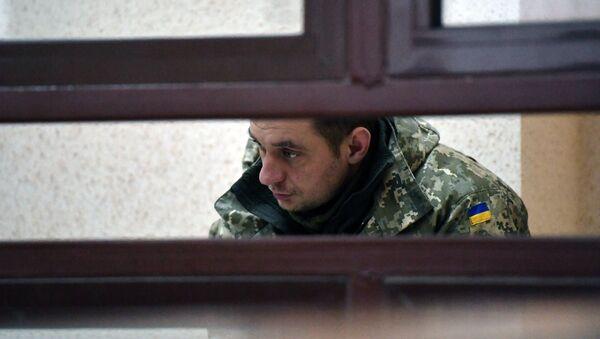 Uno de los marineros ucranianos detenidos en el estrecho de Kerch - Sputnik Mundo
