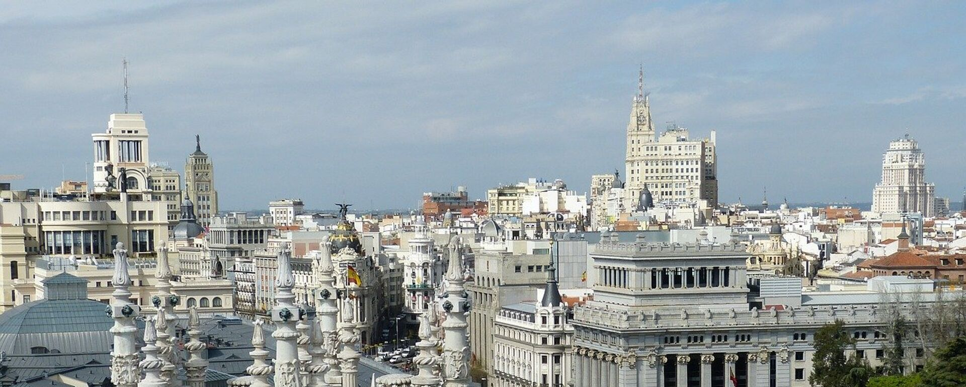 El centro de Madrid, referencial - Sputnik Mundo, 1920, 02.10.2020
