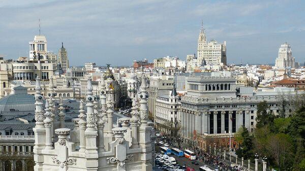 El centro de Madrid, referencial - Sputnik Mundo