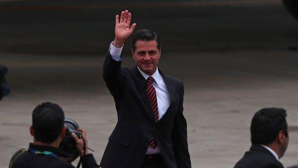 El presidente mexicano, Enrique Peña Nieto, arriba a la cumbre de líderes del G20 en Buenos Aires, Argentina - Sputnik Mundo