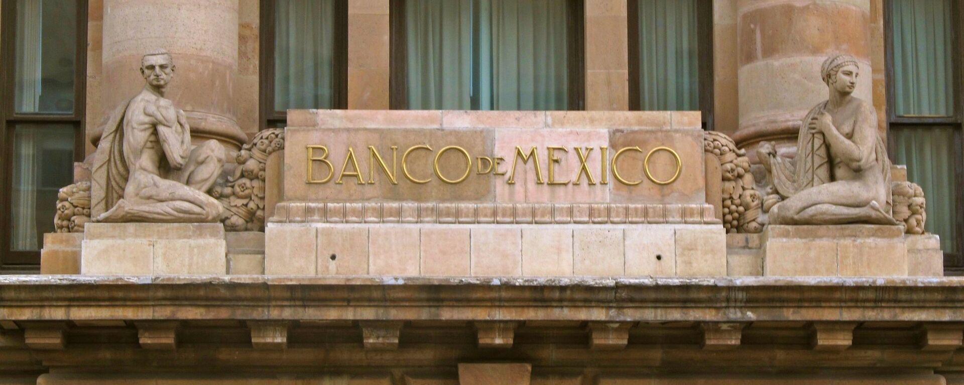 La fachada del Banco de México - Sputnik Mundo, 1920, 26.11.2020