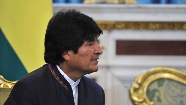 El presidente de Bolivia, Evo Morales - Sputnik Mundo