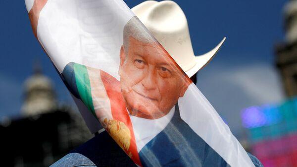 La imagen de Andrés Manuel López Obrador, presidente de México - Sputnik Mundo