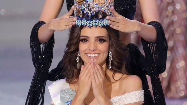 Vanessa Ponce de León, la nueva Miss Mundo 2018 - Sputnik Mundo