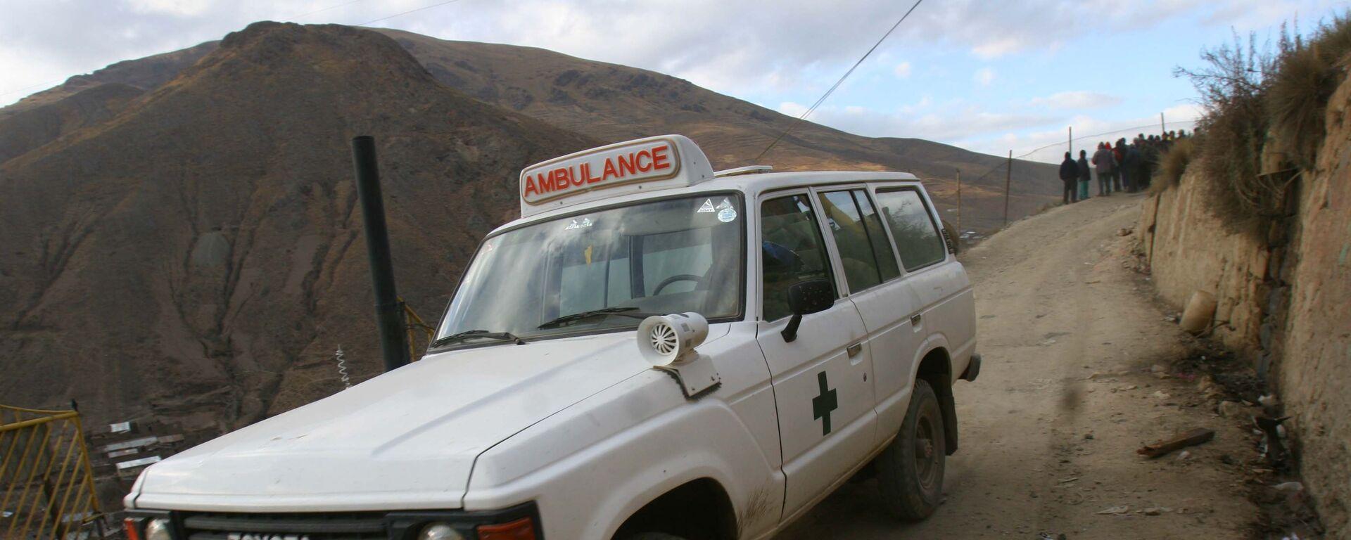 Ambulancia boliviana - Sputnik Mundo, 1920, 25.03.2021