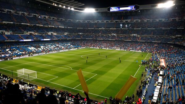 Estadio Santiago Bernabéu, Madrid - Sputnik Mundo
