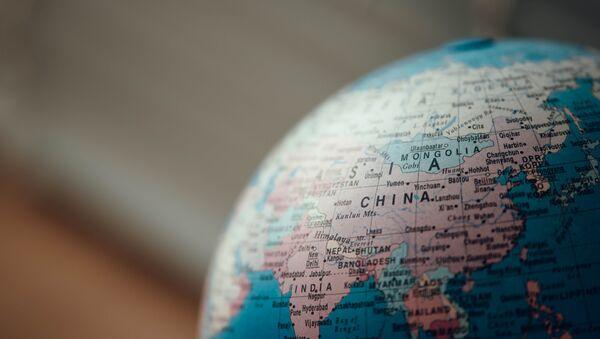 China en mapa - Sputnik Mundo