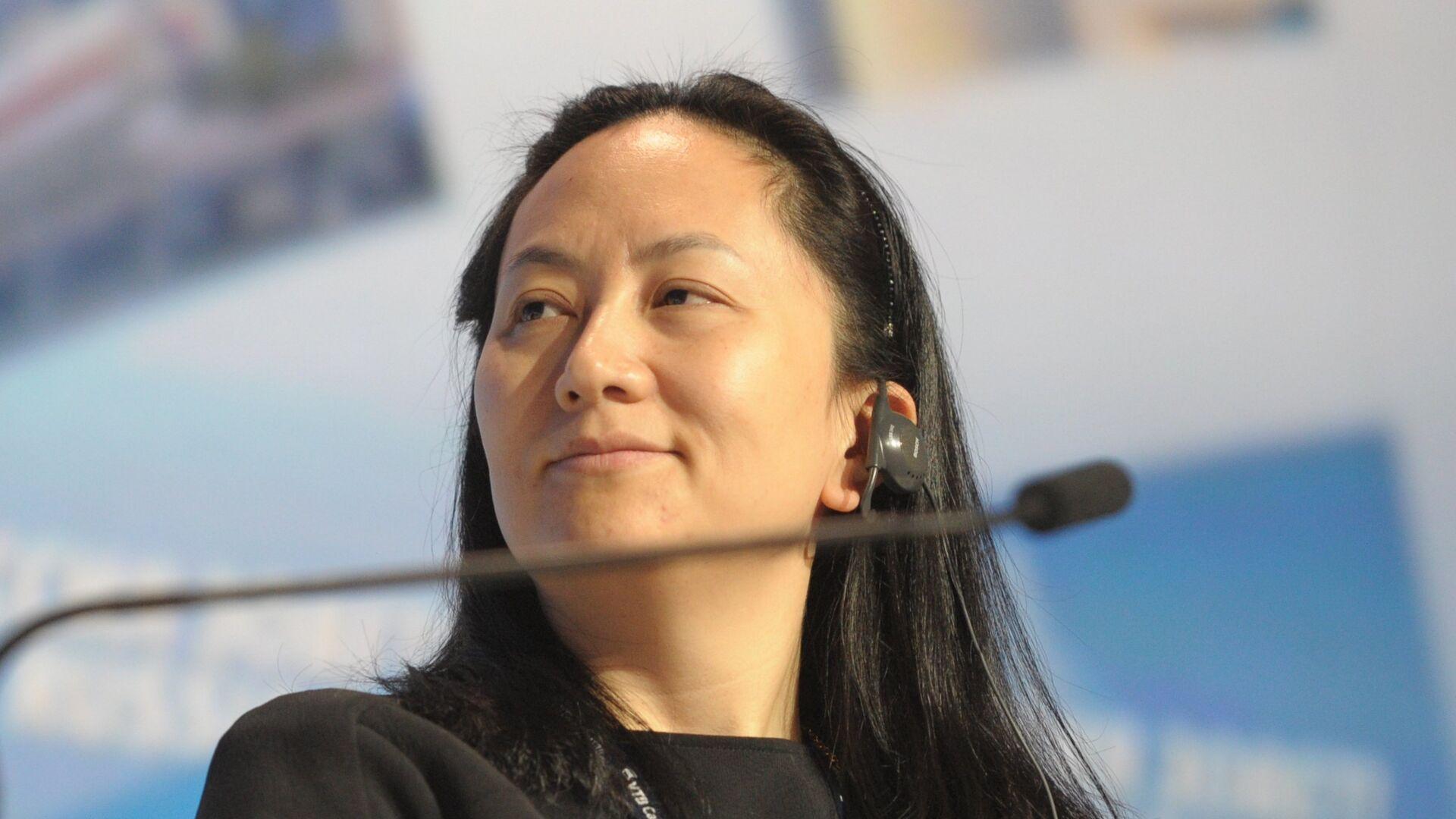 Meng Wanzhou, directora financiera de la comañía de telecomunicaciones Huawei - Sputnik Mundo, 1920, 25.09.2021