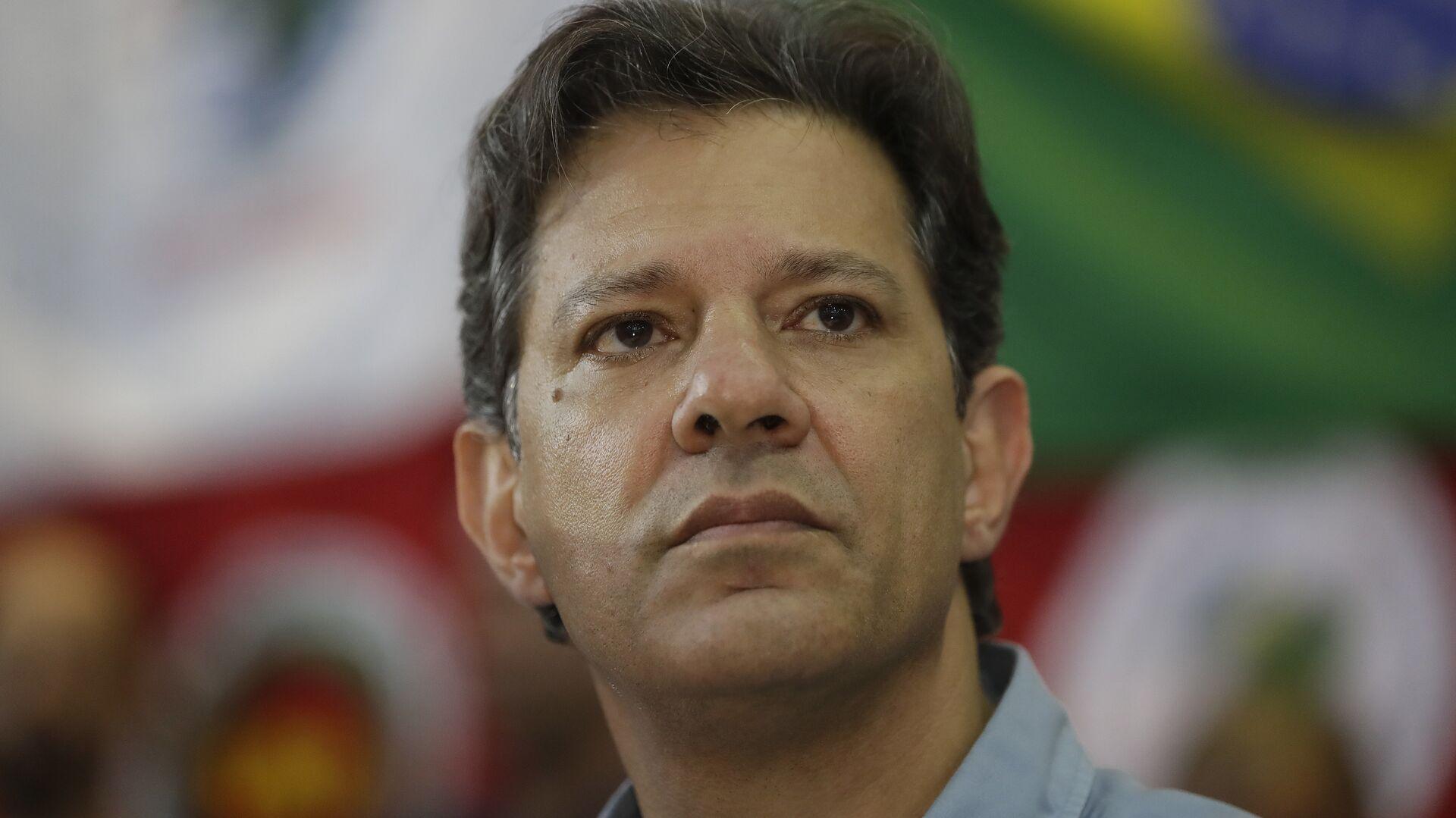 Fernando Haddad, excandidato presidencial brasileño - Sputnik Mundo, 1920, 07.09.2021