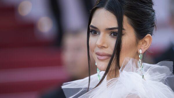 Kendall Jenner, modelo estadounidense, durante el Festival de Cine de Cannes (Francia), 12 de mayo de 2018 - Sputnik Mundo