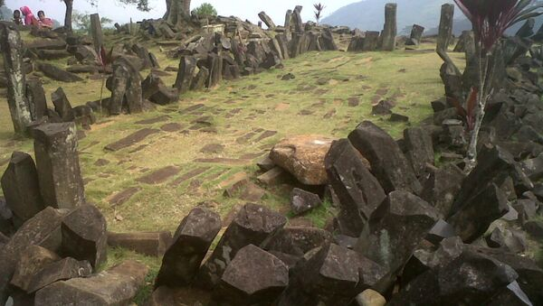 El sitio megalítico de Gunung Padang - Sputnik Mundo