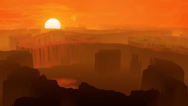 Un terreno montañoso y desierto - Sputnik Mundo
