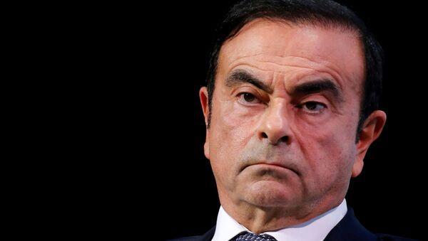Carlos Ghosn, exjefe del consorcio automovilístico Nissan - Sputnik Mundo