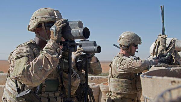 Los soldados estadounidenses en Siria - Sputnik Mundo