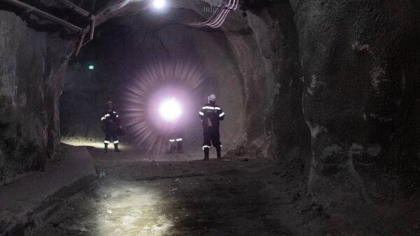 Una mina en Rusia (archivo) - Sputnik Mundo