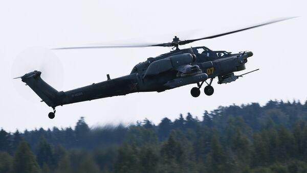 Helicóptero de ataque Mi-28N Cazador Nocturno, foto archivo - Sputnik Mundo