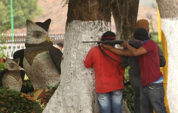 Las protestas antigubernamentales en Nicaragua alcanzaron su máximo auge en el mes de junio. Durante todo el año, cientos de personas han muerto y miles han resultado heridas, en ambas partes del conflicto civil. - Sputnik Mundo