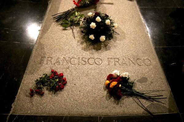 El 13 de septiembre, el Congreso de los Diputados de España dio su visto bueno al proceso de exhumación de los restos del dictador Francisco Franco, que actualmente se encuentra en el territorio del complejo memorial Valle de los Caídos. - Sputnik Mundo