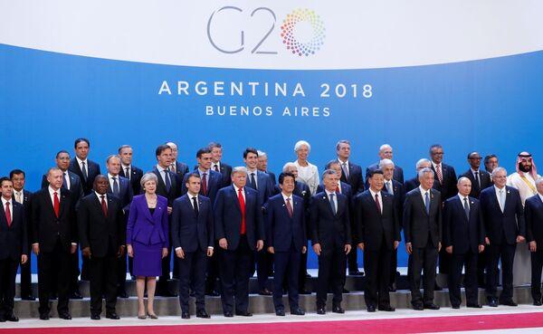 La cumbre anual de los líderes del G20 se celebró en Buenos Aires entre el 30 de noviembre y el 1 de diciembre. La capital argentina se convirtió así en la primera ciudad sudamericana en acoger este encuentro internacional. - Sputnik Mundo
