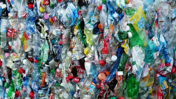 Botellas de plástico (imagen referencial) - Sputnik Mundo