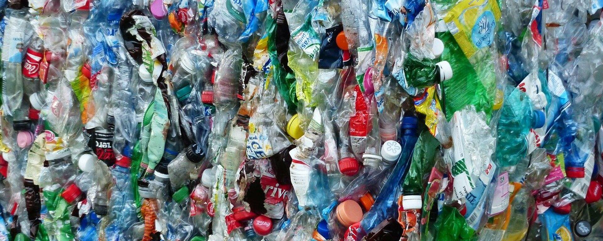 Botellas de plástico (imagen referencial) - Sputnik Mundo, 1920, 09.04.2020