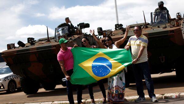 Brasilia se prepara para la investidura de Bolsonaro - Sputnik Mundo