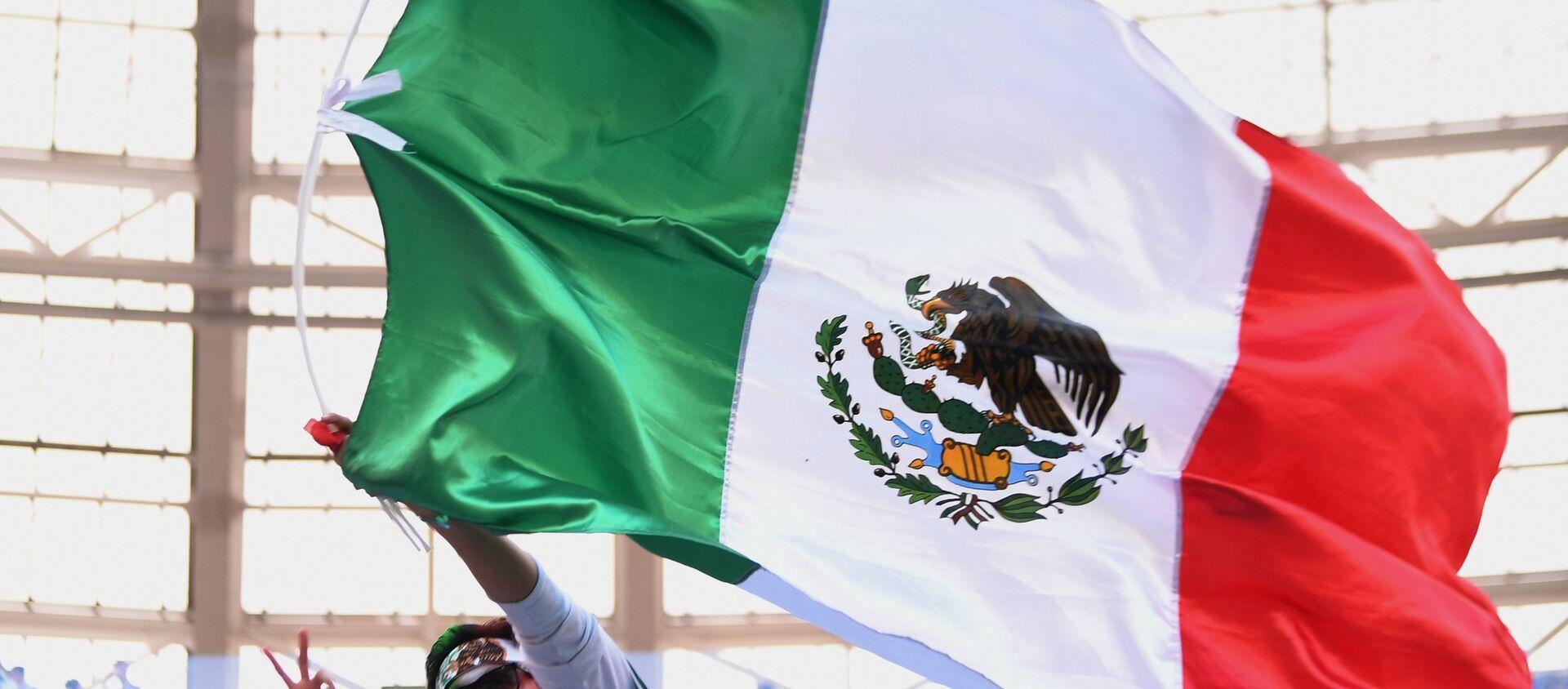La bandera de México - Sputnik Mundo, 1920, 02.01.2019