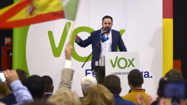 Santiago Abascal, líder del partido Vox - Sputnik Mundo