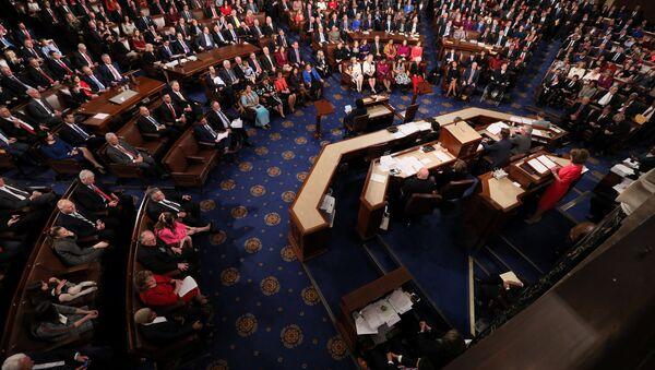 La Cámara de Representantes de EEUU - Sputnik Mundo