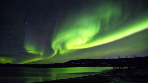 Aurora boreal (imagen referencial) - Sputnik Mundo